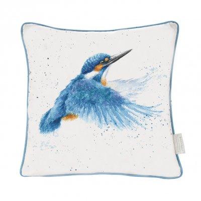 'Make a Splash' Kingfisher Cushion
