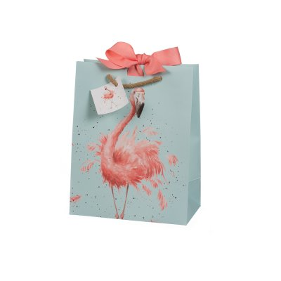 Medium Flamingo Gift Bag