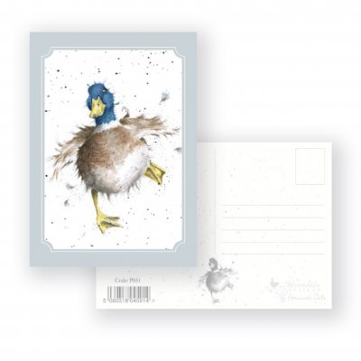 P031 'A Waddle and a Quack' Postcard
