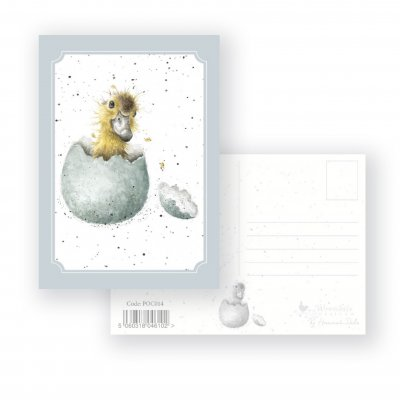 POC014 'Little One' Postcard