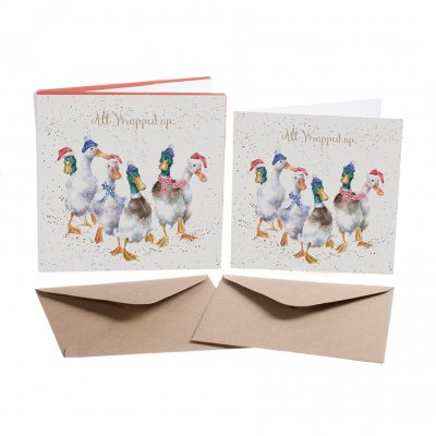 'All Wrapped Up' Christmas Card Box Set