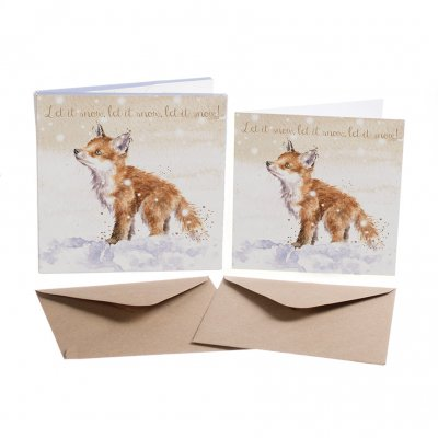 'Let it Snow' Christmas Card Box Set