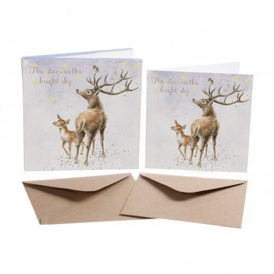 'The Stars in the Bright Sky' Christmas Card Box Set