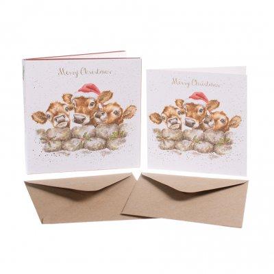 'Gathered all Around' Christmas Card Box Set